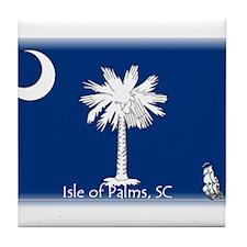 Isle of Palms Tile Coaster