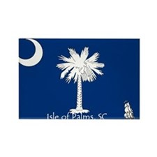 Isle of Palms Rectangle Magnet