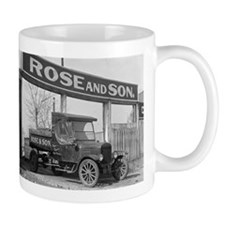 Coal Delivery Truck Mugs