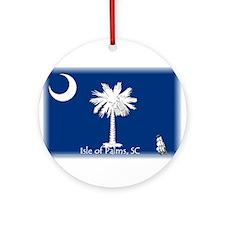 Isle of Palms Ornament (Round)
