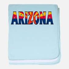 Arizona baby blanket