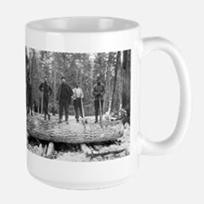Portrait of Loggers Mugs