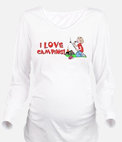 ilove.png Long Sleeve Maternity T-Shirt