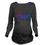 StepDad - Just Dad! Long Sleeve Maternity T-Shirt