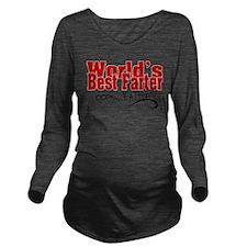 World's Best Farter Long Sleeve Maternity T-Shirt