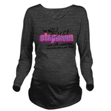 Best Stepmother Long Sleeve Maternity T-Shirt
