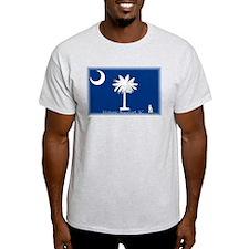 Historic Beaufort, SC Ash Grey T-Shirt