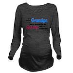 agrandpaspoil.png Long Sleeve Maternity T-Shirt