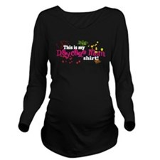 daycaremom.png Long Sleeve Maternity T-Shirt