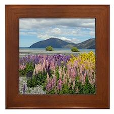 Lake Coleridge - Framed Tile