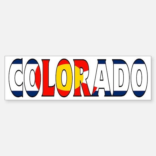 Colorado Bumper Bumper Bumper Sticker