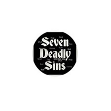 The Seven Deadly Sins Mini Button