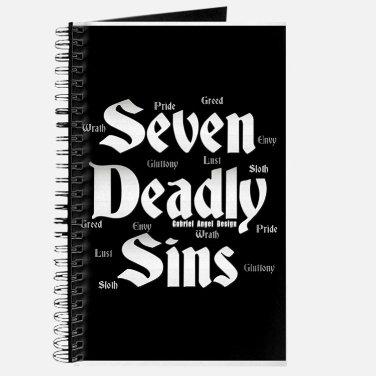 The Seven Deadly Sins Journal