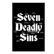 The Seven Deadly Sins Postcards (Package of 8)