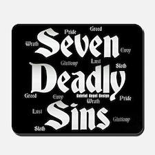 The Seven Deadly Sins Mousepad