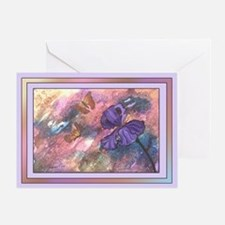 One - Pastel Monarch Lavender Trim Cards (3 Sizes)
