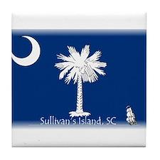 Sullivan's Island Tile Coaster