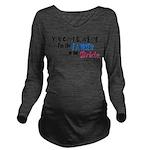 fatherbridde.png Long Sleeve Maternity T-Shirt