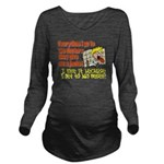 hugmyself.png Long Sleeve Maternity T-Shirt
