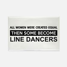 line created equal designs Rectangle Magnet