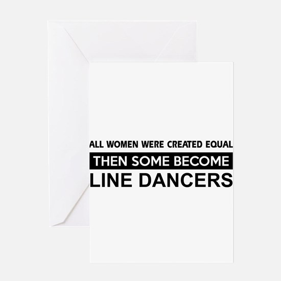 line created equal designs Greeting Card