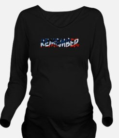 remember.png Long Sleeve Maternity T-Shirt