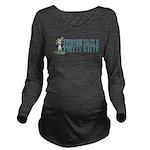 Pretty Kitty Long Sleeve Maternity T-Shirt