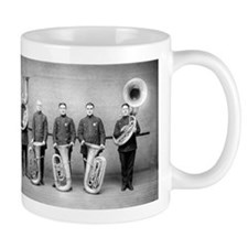 Police Band Tuba Players Mugs