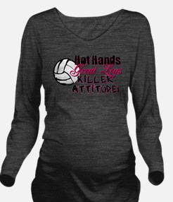 hothands2.png Long Sleeve Maternity T-Shirt