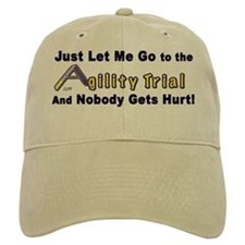 AGILITY-nobody gets hurt Baseball Cap