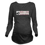 daddystruckdriver.gif Long Sleeve Maternity T-Shir