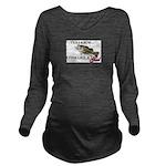 fish.png Long Sleeve Maternity T-Shirt