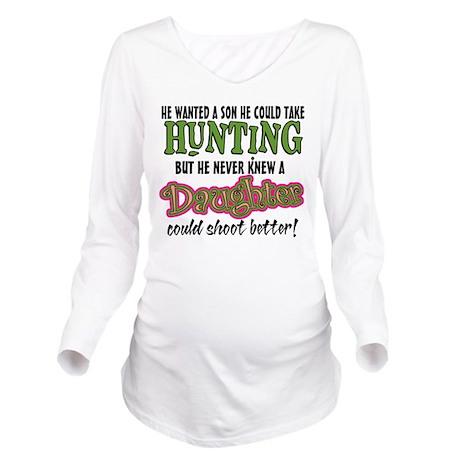 Daughters Shoot Bett Long Sleeve Maternity T-Shirt
