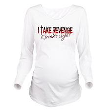Cute Dimera Long Sleeve Maternity T-Shirt