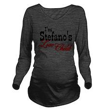 Stefano's Love Child Long Sleeve Maternity T-Shirt