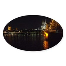 Hohenzollern Bridge Cologne Decal