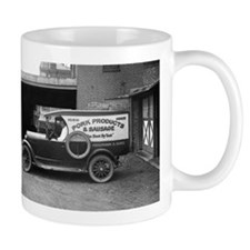 Meat Market Delivery Truck Mugs