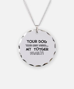 My Toyger Cat is Family Necklace