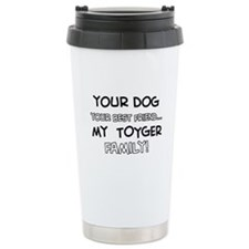 My Toyger Cat is Family Travel Mug
