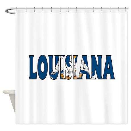Louisiana Shower Curtain