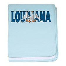 Louisiana baby blanket