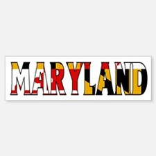 Maryland Bumper Bumper Bumper Sticker
