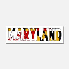Maryland Car Magnet 10 x 3