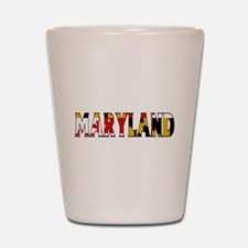 Maryland Shot Glass