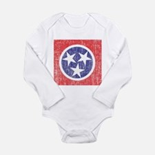 Faded Tennessee Flag Body Suit