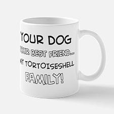 My Tortoise shell Cat is Family Mug