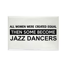 jazz created equal designs Rectangle Magnet