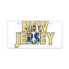 New Jersey Aluminum License Plate