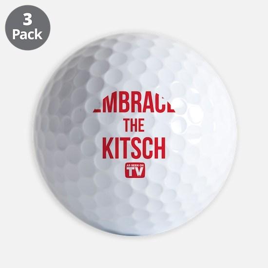 Embrace The Kitsch Version 1 Golf Ball