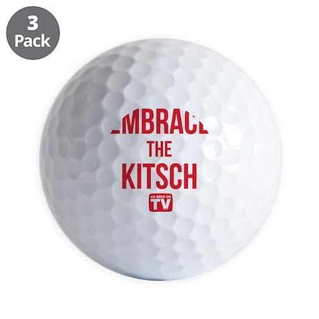 Embrace The Kitsch Version 1 Golf Balls
